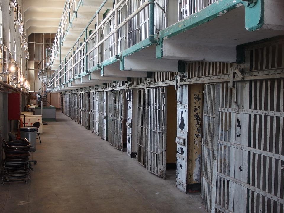 実際のアルカトラズ刑務所