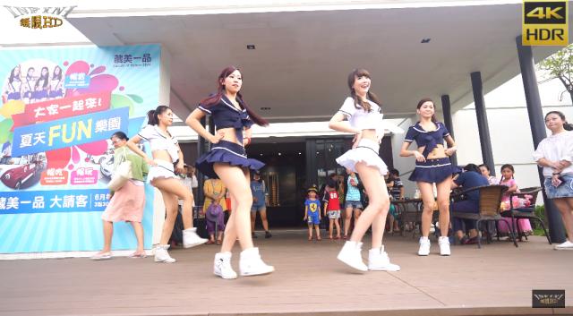 食い込みやシワまでくっきり!中国美少女の華麗なるダンス&ミニスカパンチラ動画のサムネ