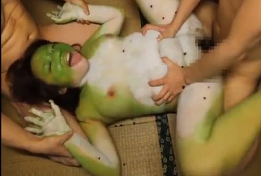 蛙女の画像