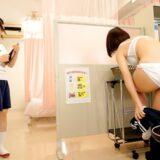 JKの身体測定で先生役ができる!?おっぱい、おまんこ触りまくってエッチな検査しちゃってください!