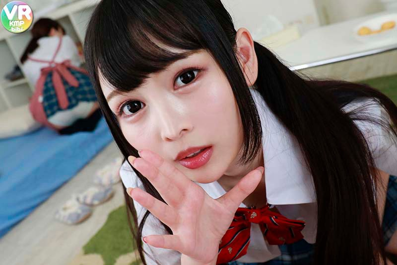 【VR】小悪魔美少女の全力誘惑!?チート級にカワイイ同級生にヒソヒソ淫語で痴女られたボク 跡美しゅり